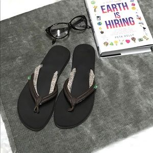 Sanuk Yoga Mat Flip Flop Sandal